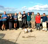 Picture of members from the Farlington Ringing Group